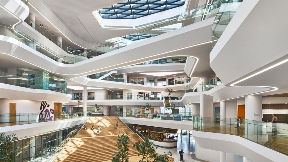 ユニリーバのジャカルタオフィスの風景