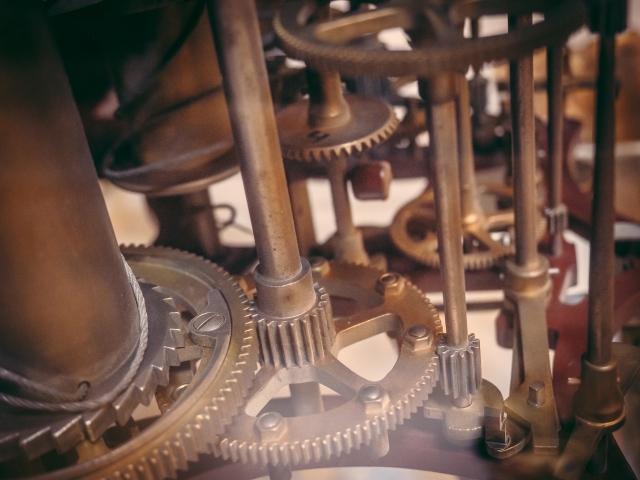 歯車の画像