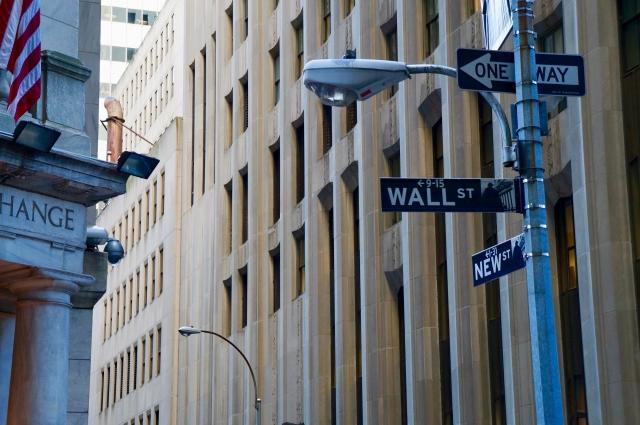 ウォール街の光景